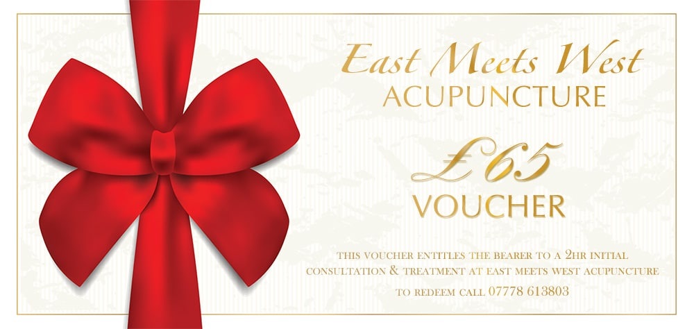 Acupuncture Gift Voucher for Initial Consultation & Treatment