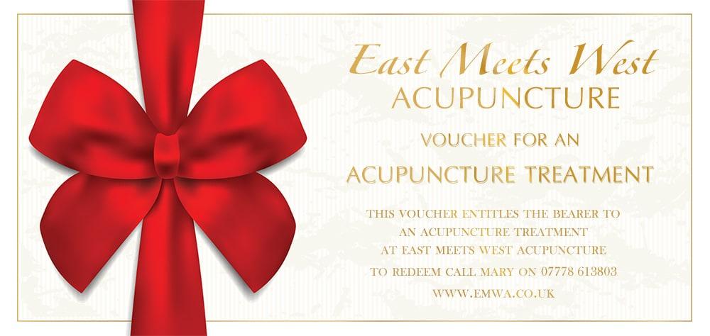 Acupuncture Voucher - Follow Up Treatment