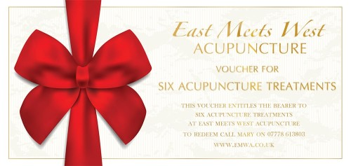 Acupuncture Voucher - 6 Pack