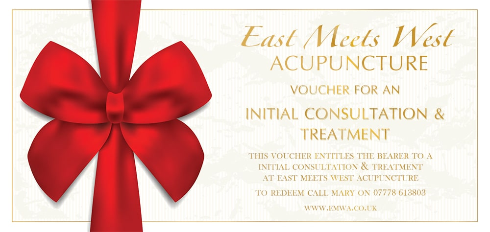 Acupuncture Voucher for an Initial Consultation & Treatment
