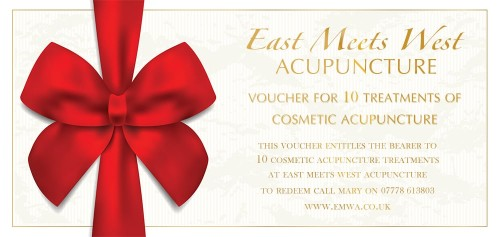 Cosmetic Acupuncture Voucher - Pack of 10